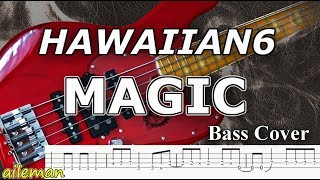 Hawaiian6 MAGIC ( ベース TAB譜 )