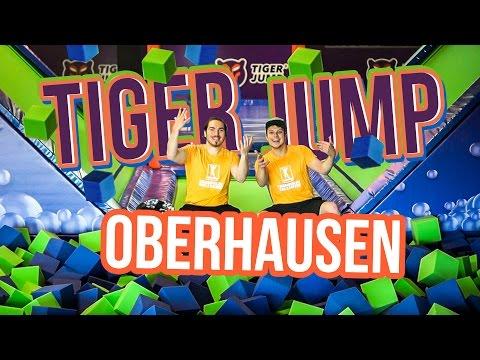 NRW aufgepasst! Das ist die Trampolinhalle Oberhausen!