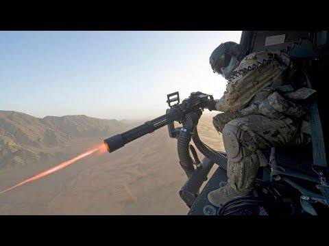 Impressively Powerful M134 Minigun [GAU-17 Gatling Gun] & GA