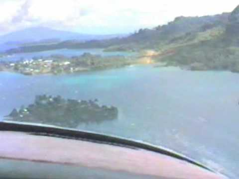 Piper Aztec in the Solomon Islands - Western Pacific Air Services