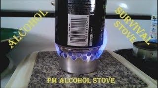 The Pm Alcohol Stove