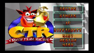 CTR : How to Get Infinite Missiles (With out Gameshark)