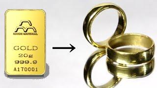 結婚するために指輪を作る
