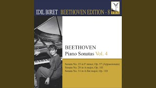 Piano Sonata No. 31 in A-Flat Major, Op. 110: II. Allegro molto