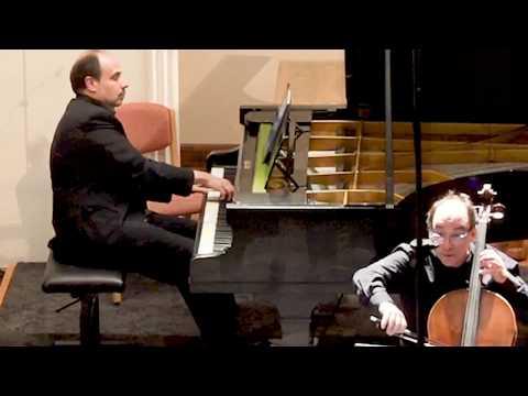 Beethoven op.102/2 Ist , Rafael Rosenfeld and Claudio Martínez Mehner