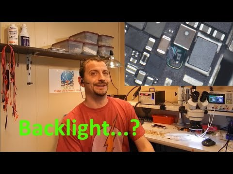iPhone 6s Backlight - Full Rebuild, Welded Pads, Misery