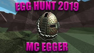 How to Get the Mc Egger | Roblox Egg Hunt 2019