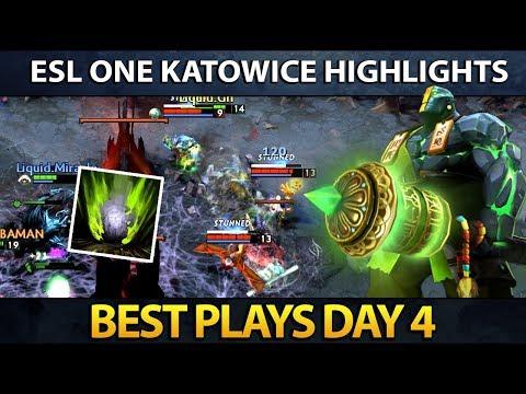 ESL One Major Katowice - Best Plays - Day 4
