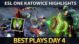 ESL One Major Katowice - Best Plays - Day 4