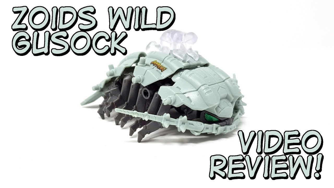 Zoids Wild Gusock Unboxing and Review