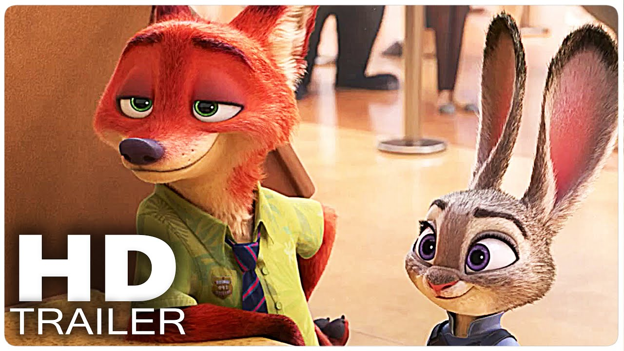 Zootopia Trailer 2 | Disney Movie 2016 - YouTube