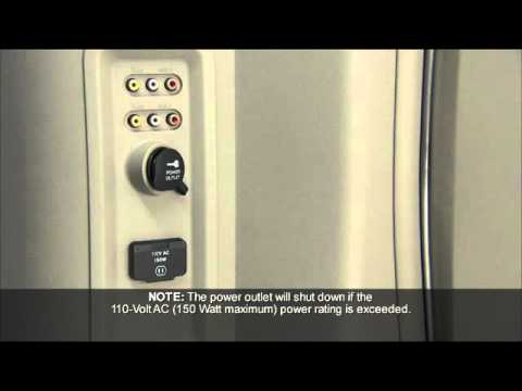2012 Dodge Grand Caravan Electrical Power Outlets Youtube