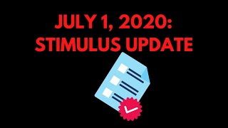 7/1/2020 - STIMULUS UPDATE | Bill discussed on Floor of House of Representatives | Breaking News