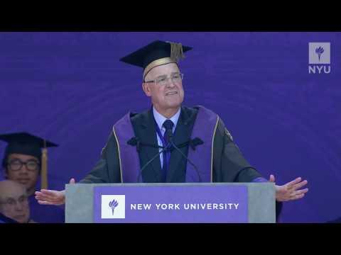 NYU President Andrew Hamilton's 2017 Commencement Address