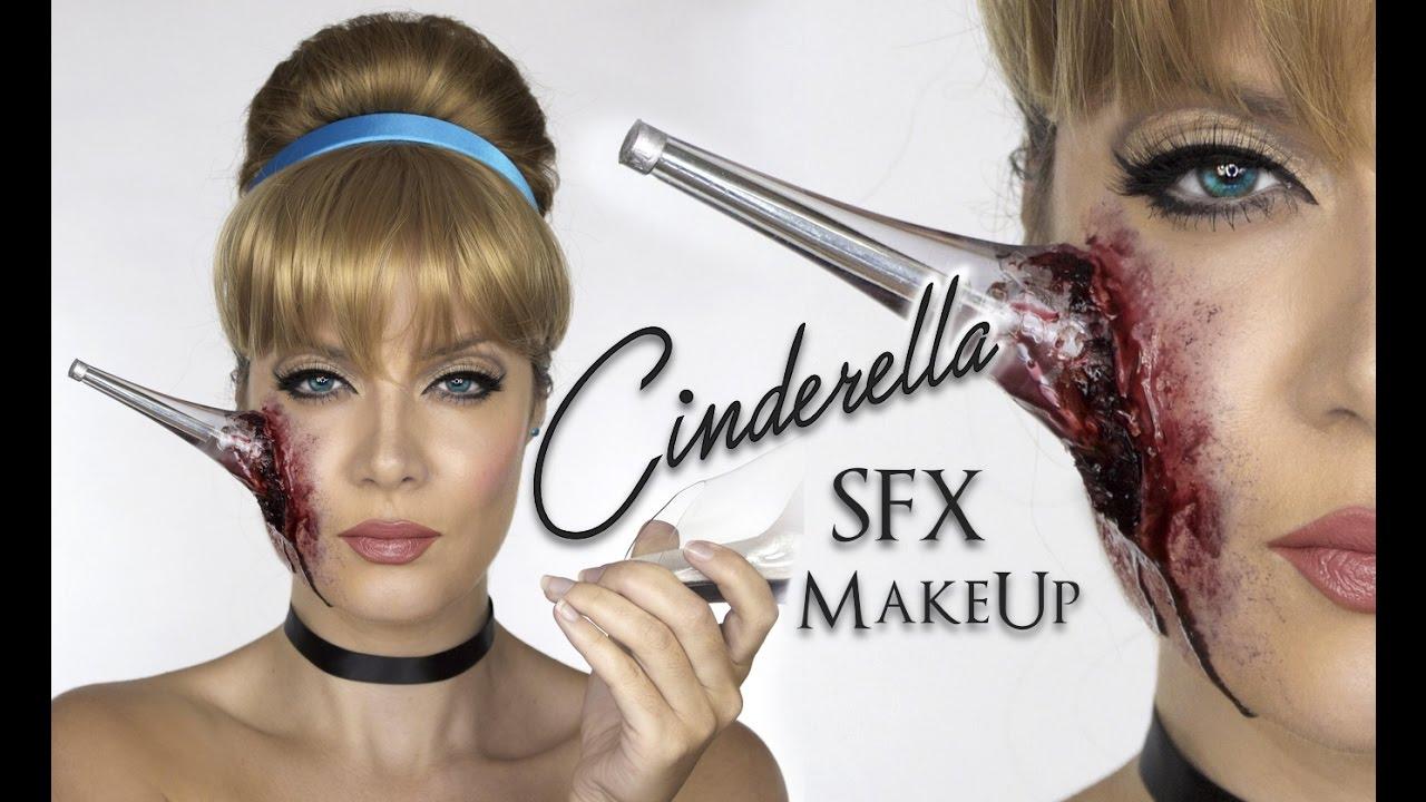 Cinderella SFX MakeUp | Heel In Face | Halloween Disney Princess | Shonagh Scott - YouTube