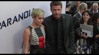 Miley Cyrus & Liam Hemsworth First Appearance Since Split Rumours At Paranoia Premiere