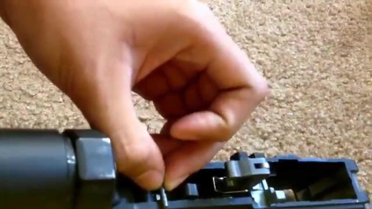 G&P WA GBB M4 Full Auto Sear Install (AIRSOFT)