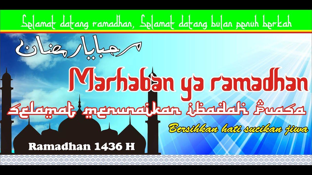 Design Coreldraw Membuat Spanduk Ramadhan Make Banners Ramadhan