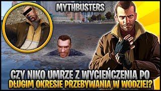 Czy Niko zginie po długim czasie spędzonym w wodzie!? - Niko w roli Pogromcy Mitów w GTA 4 #13