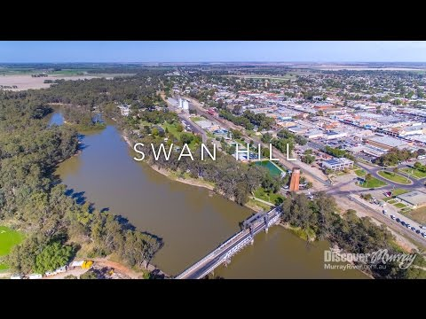 Murray River Bird Aerial Video - Swan Hill - Discover Murray River