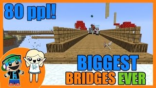 The Bridges Friday - BIGGEST Bridges Game Ever with 80 people and Cybernova