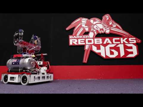 Barker Redbacks FRC Team 4613 - Robot Reveal 2018