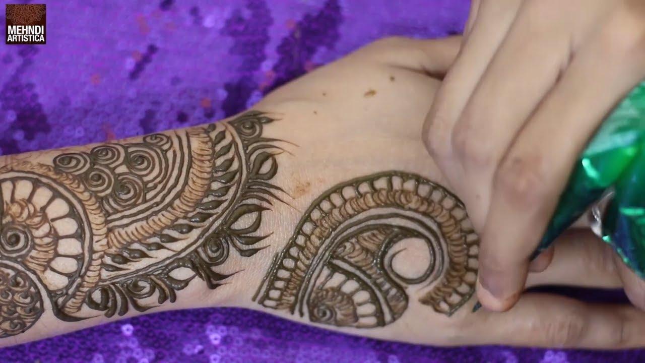 Beautiful Style Mehndi Design 2021 | Simple Arabic Mehndi Design | Front Hand for wedding