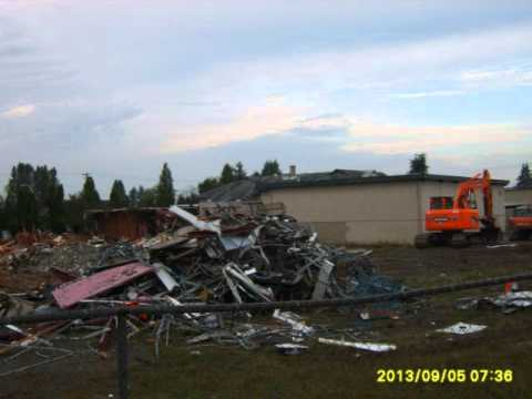 Fleetwood Elementary School Torn-down