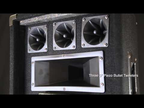 "Rockville - RSG12 Single 12"" - 500 RMS Watts - Peak Carpeted Passive Loudspeaker - Overview"