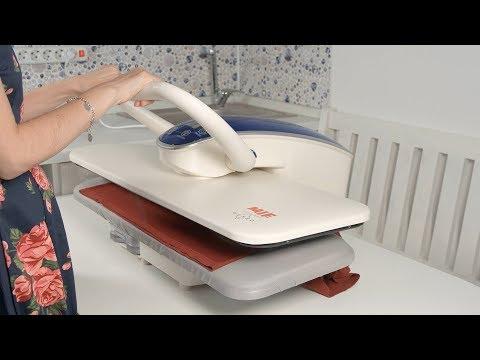Гладильный пресс MIE Romeo II: комфортно и быстро гладит постельное белье и одежду простых форм