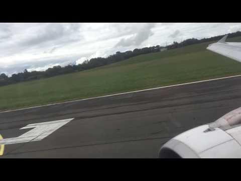 Air France A320 take off Biarritz