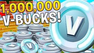1 MILLION VBUCKS IN FORTNITE? RICHEST PLAYER?