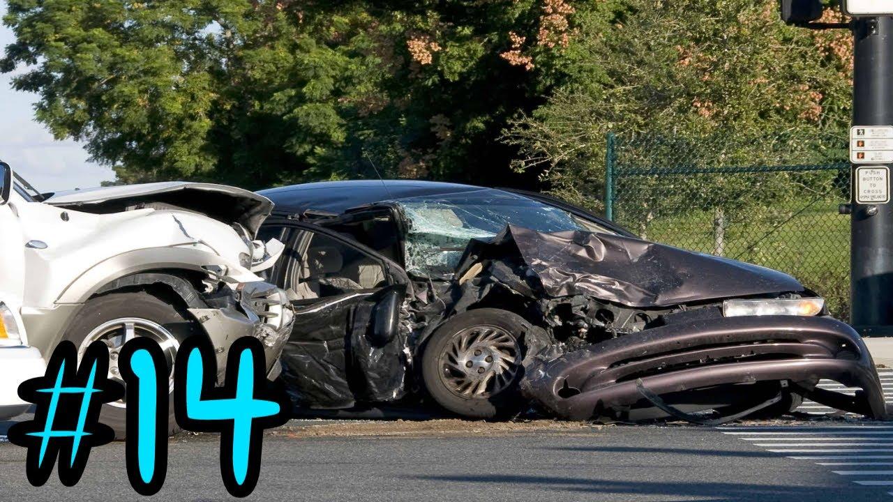 Best Car Crash Compilation USA / RUSSIA #14