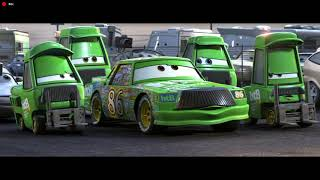 """Cars clip: """"Thunder always comes after LIGHTNING!"""""""