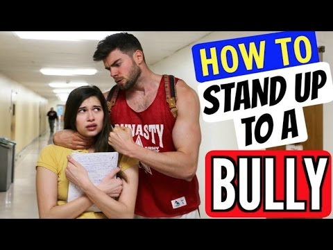 How to Stand Up to A Bully in School!