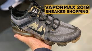 VAPORMAX 2019 SHOPPING (+NIKE ZOOM PEGASUS 35 TURBO ON-FEET REVIEW)
