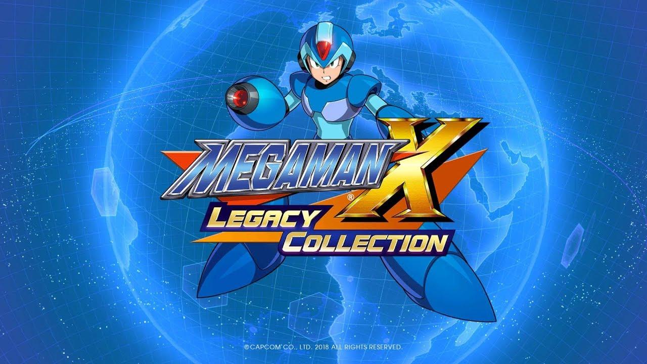 MegaMan X Legacy Collection Trailer
