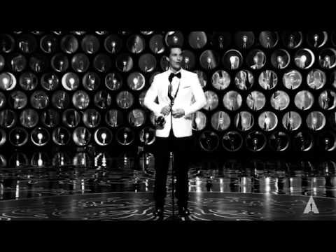 Matthew McConaughey Oscar Speech w/Hans Zimmer & Vintage Flair
