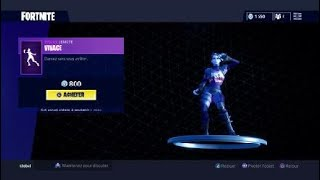 FORTNITE BUG GRAPHISME IN THE BOUTIQUE!