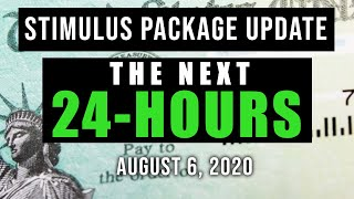 SECOND STIMULUS CHECK & STIMULUS PACKAGE UPDATE (NEXT 24 HOURS)