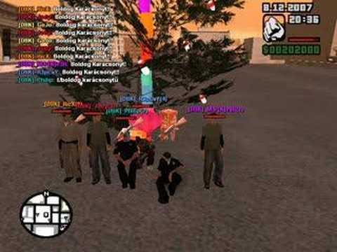 Merry Christmas! GTA MP CZ   by: Dark Bloody Killers