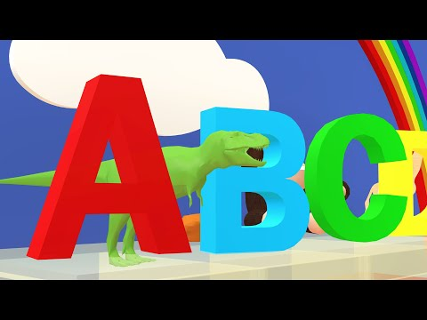 【ABCDE Alphabet Songs 3D Animation】 - ABC KIDS CHANNEL