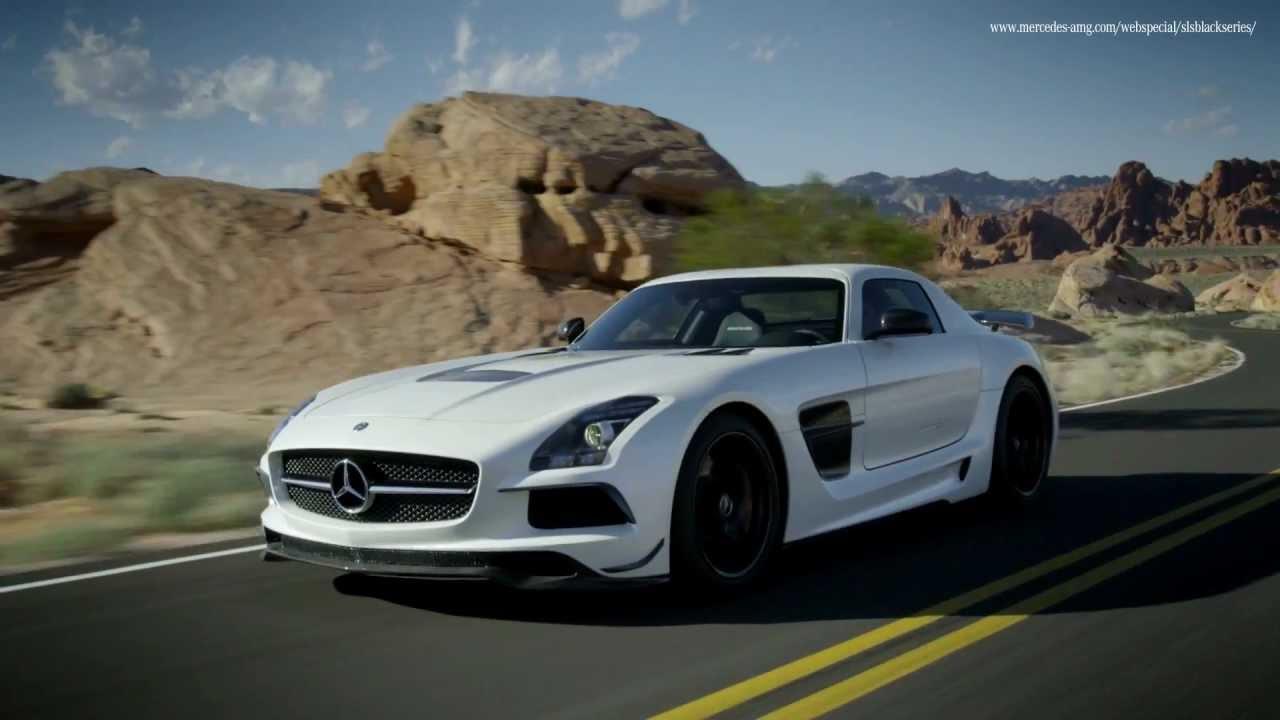 Mercedes SLS AMG 2013 Black Series Commercial Carjam TV HD