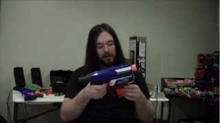 Review: Nerf Elite Series Retaliator Unboxing