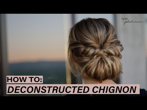HOW TO: Deconstructed Chignon | Kenra Platinum