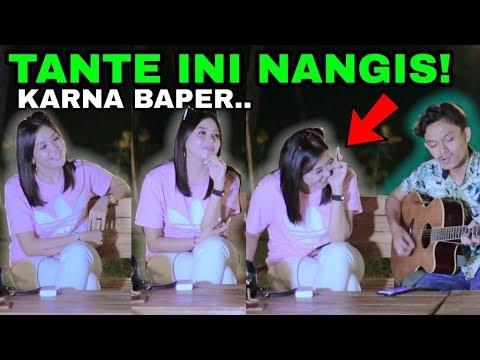 TANTE CANTIK INI DI BUAT BAPER SAMPE NANGIS !! TERNYATA INI..