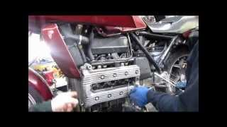 BMW Service - BMW K75 & K100 Valve Clearance Check