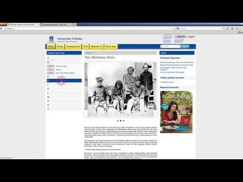 Cara membeli Buku di Toko Buku Cetak Online Universitas Terbuka
