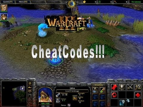 Warcraft 3 Cheatcodes In Video!