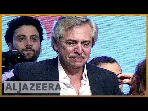 Facing economic crisis, Argentina picks Fernandez as president